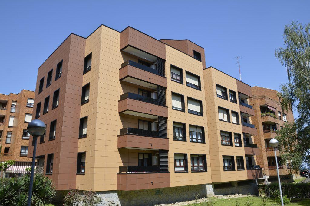 Rehabilitación de viviendas con lamas de aluminio