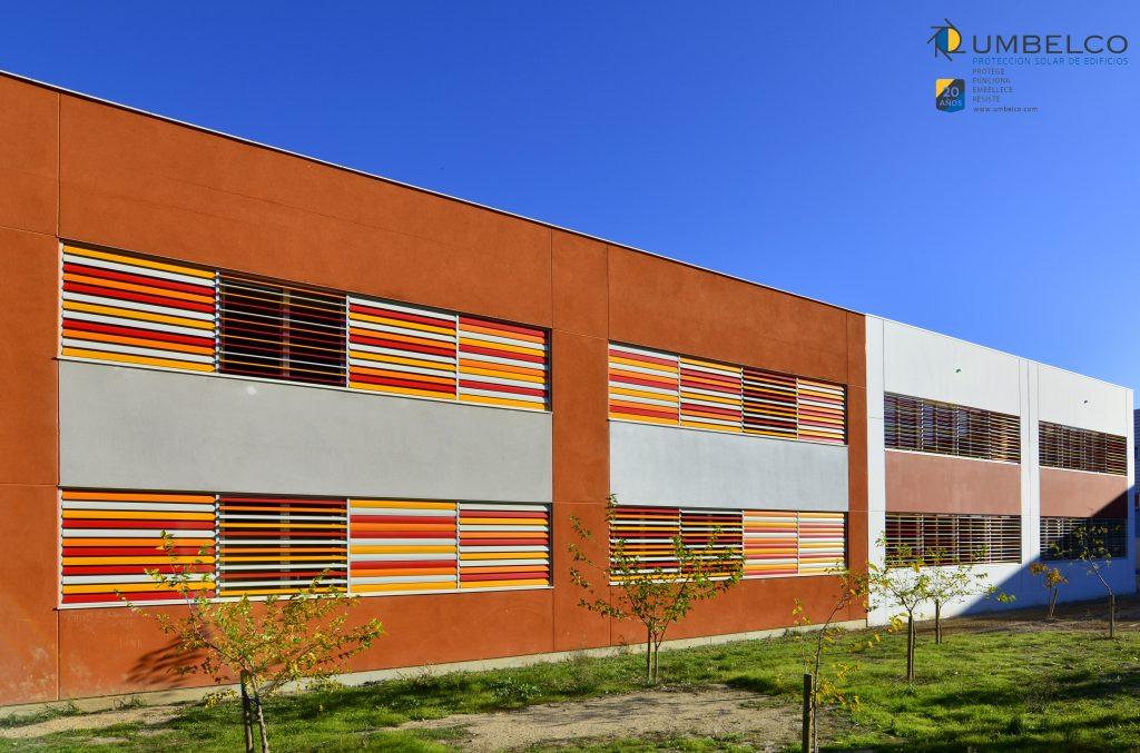 lamas de colores para colegios