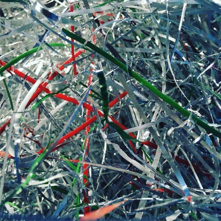 Imagen de la viruta de la perfilación