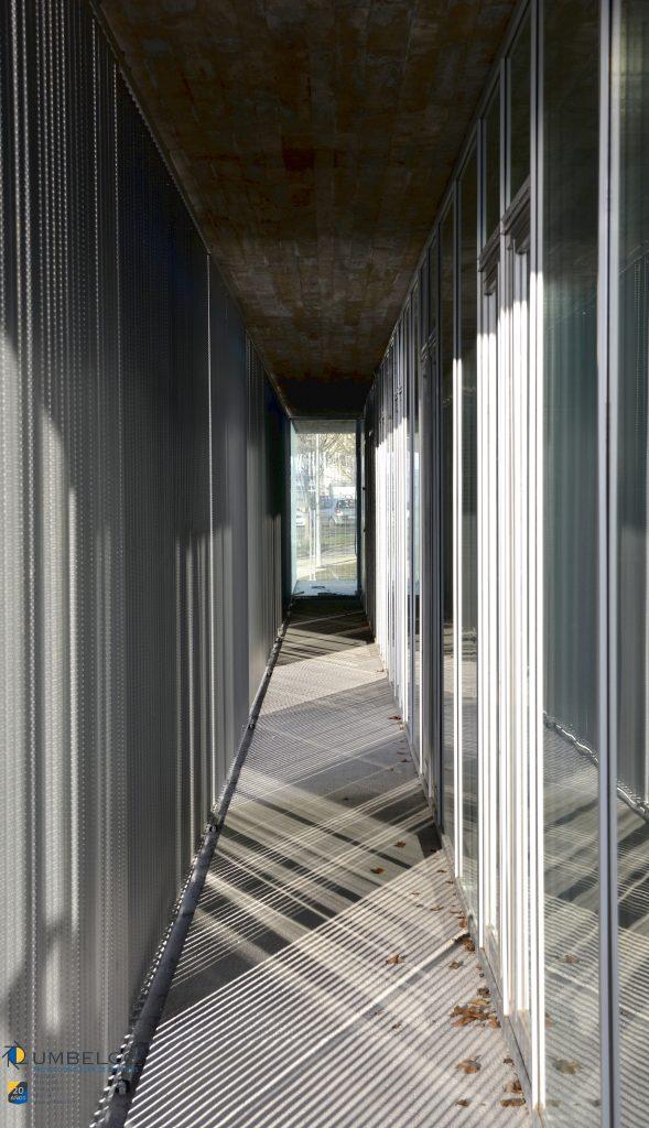 Lamas perforadas de aluminio