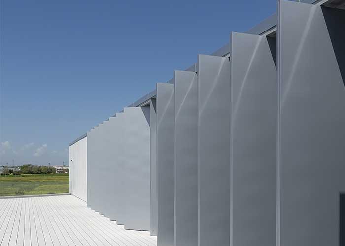 lamas de aluminio orientables para naves industriales