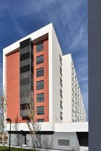celosias lamas orientables aluminio upo 150 ingennus urban consulting edificio zaragoza