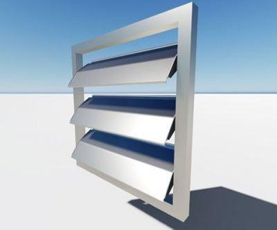 adjustable aluminum louvers