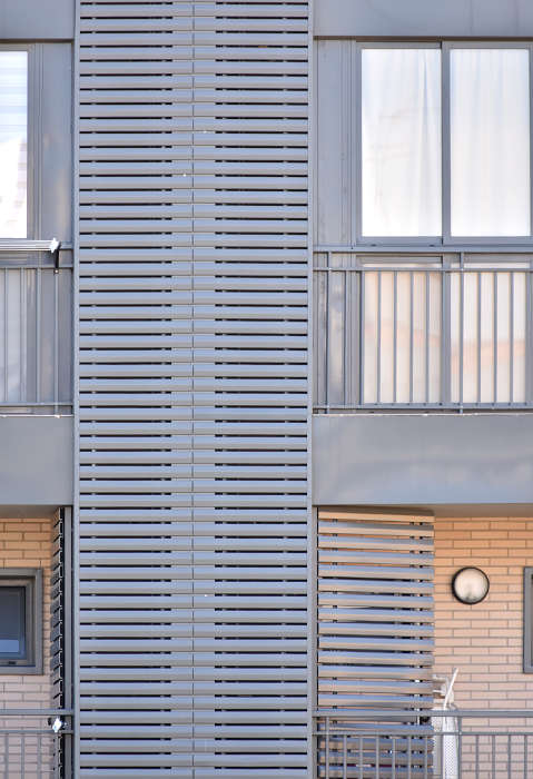 lamas de aluminio para viviendas